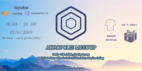 Akropolis Meetup tickets