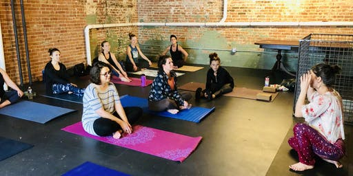 Yoga and Cider Sunday at the Buffalo Cider Hall
