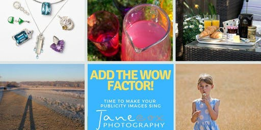 Lunch & Learn with London Small Biz Network: How to add the WOW Factor to your Promotional Images