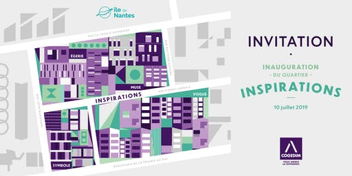 Inauguration du nouveau quartier INSPIRATIONS sur l'île de Nantes