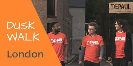 Dusk Walk - LONDON tickets