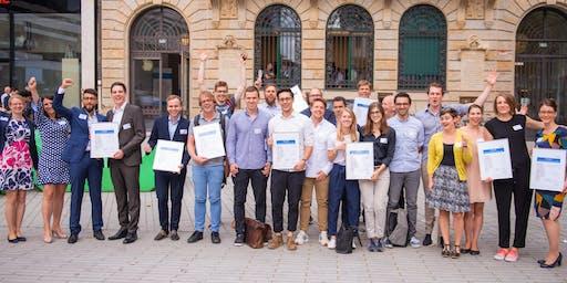 Prämierungsfeier HHU Ideenwettbewerb und GFFU Startup Wettbewerb 2019