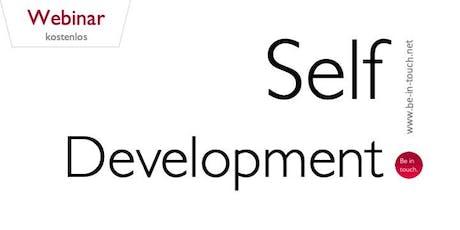 Webinar: Self-Development Tickets