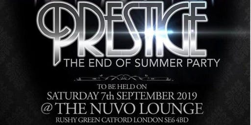 THE ROCK 926 PRESENTS A NITE CALLED  PRESTIGE END OF SUMMER PARTY