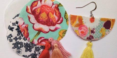 DIY Fabric Earrings Workshop tickets
