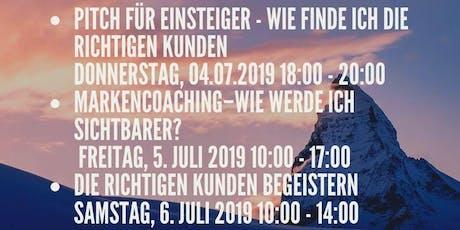 Workshopreihe – Überzeugen mit klaren Marken - Botschaften und Persönlichkeit - Unternehmensberatung Tickets