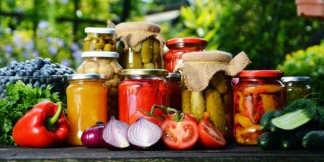 Summer Canning Workshop: Learn to Preserve Jam, Pickles and Tomatoes tickets