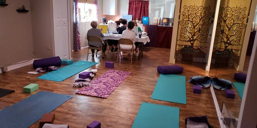 Yoga, Paint And Meditate At Beyond The Mat Yoga