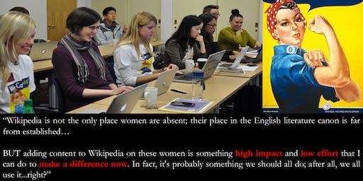 Feminist Writers - a Wikipedia Diversithon to add bios of feminist writers.