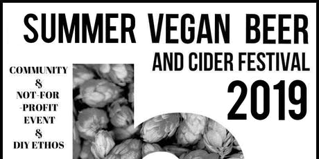 Summer Vegan Beer And Cider Festival  tickets