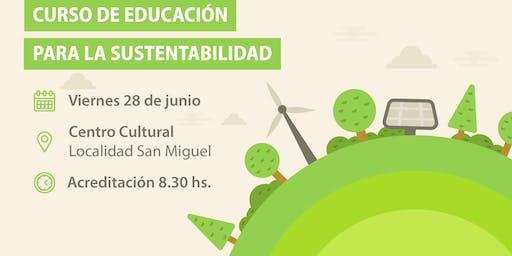 Curso de Educación para la Sustentabilidad