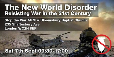 New World Disorder: Resisting War in the 21st Century tickets