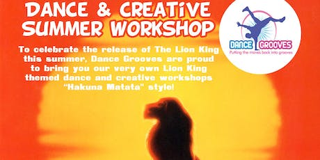The Lion King themed Dance & Creative Summer Holiday Workshop at The Half Moon Putney tickets