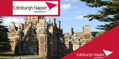 Edinburgh Napier University MBA Webinar for Oman Students - Meet University Professors