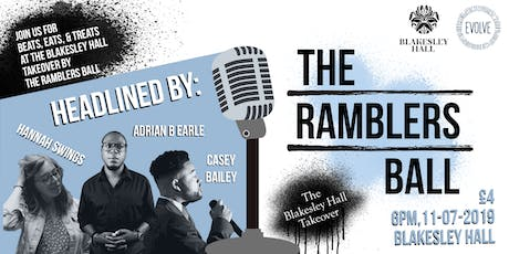 The Ramblers Ball: The Blakesley Hall Takeover! tickets