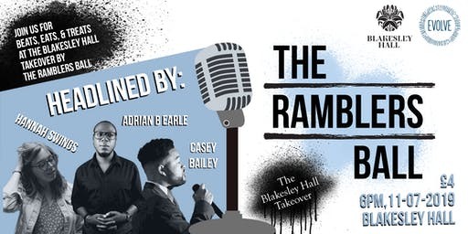 The Ramblers Ball: The Blakesley Hall Takeover!