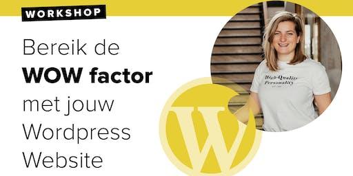 Workshop: Boost your WordPress 3 Juli