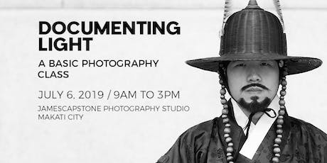 Documenting Light: A Basic Photography Class tickets
