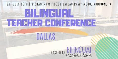 Bilingual Teacher Conference in Dallas 2019 tickets
