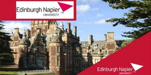 Edinburgh Napier University MBA Webinar for Jordan Students - Meet University Professors