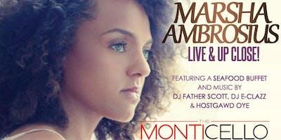 SUNDAY SKOOL Dayplay & MONTICELLO presents MARSHA AMBROSIUS Live & UpClose!