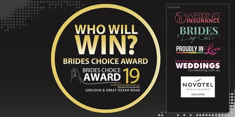 Geelong & Great Ocean Road Brides Choice Awards Gala Cocktail Party 2019 tickets
