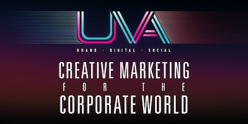 Creative Marketing for the Corporate World - Brand, Digital, Events & Experiential