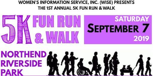 WISE 1st Annual 5K Fun Run & Walk