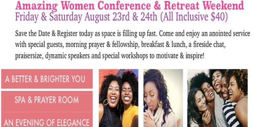 Amazing Women Conference & Retreat Weekend