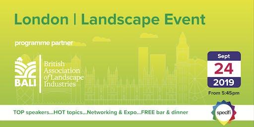 Specifi London 2 - LANDSCAPE EVENT