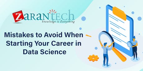 Mistakes to Avoid When Starting Your Career in Data Science (FREE Webinar) tickets