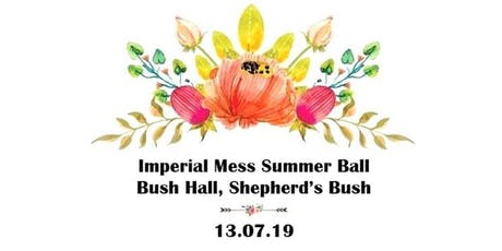 Imperial Mess Summer Ball tickets