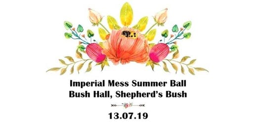 Imperial Mess Summer Ball