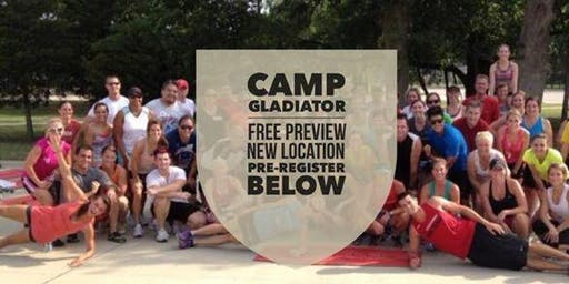 Free Workouts at New Location with Camp Gladiator