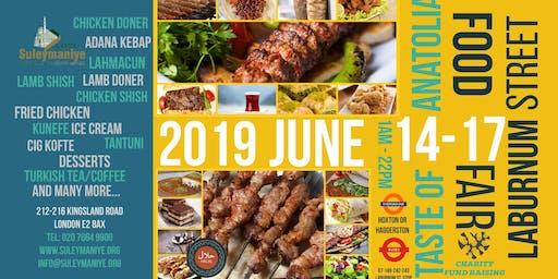 Laburnum Street Food Fair ~ Turkish Food Event