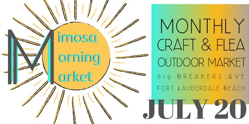 Mimosa Morning Market: Brunch, Cocktails & Shopping on Ft Lauderdale Beach