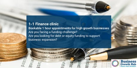1-1 Finance Clinic - 18th July 2019, Slough Aspire tickets