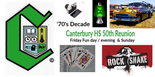Friday Fun Day for Canterbury '70s Decade Celebrating 50th Anniversary