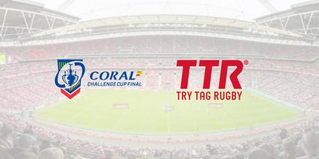 CORAL Challenge Cup Final @ Wembley with TTR tickets