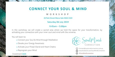Connect Your Soul & Mind tickets