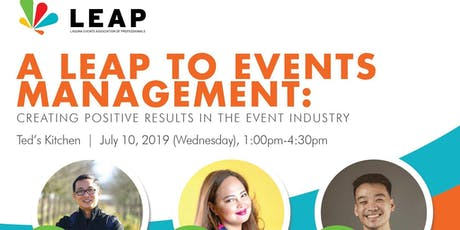 A LEAP TO EVENTS MANAGEMENT tickets