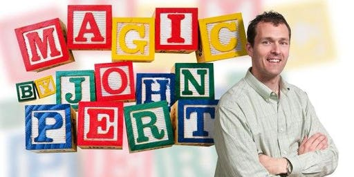 Magic Show at Perth Union Library with John Pert