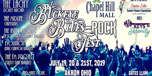 April Red LIVE at Buckeye Blues-ROCK Fest, Chapel Hill Mall Akron OH!