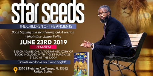 "Star Seeds ""The Children Of The Ancients"" Book Signing"