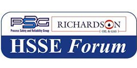 2019 PSRG-RICHARDSON HSSE FORUM - THE 11TH EDITION tickets