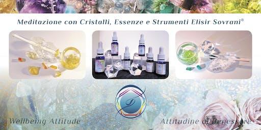 Meditazioni con Cristalli ed Essenze Vibrazionali d'Estate
