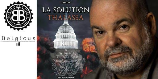 Sortie de La Solution Thalassa, thriller de Philippe Raxhon
