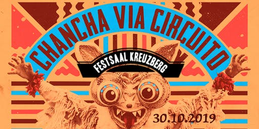 Chancha Via Circuito (Full Band) + Martha van Straaten & Kahala Moon (live)