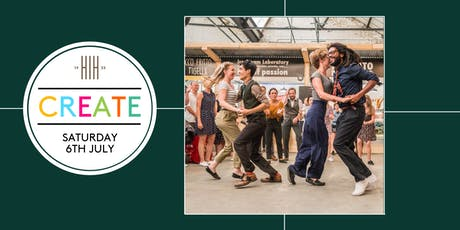 CREATE: Free Swing Dance Workshop with Swing Patrol tickets