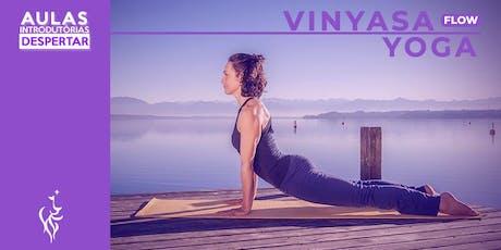 Aula Introdutória  - Vinyasa Flow Yoga  ingressos